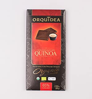 Dark Chocolate with Quinoa Fair Trade Certified