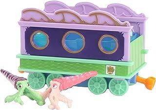 Dinosaur Train Collectible Dinosaur With Train Car: My Friends Can Swim: Max/Mitch