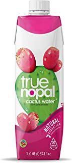 True Nopal Cactus Water, 33.8 Fluid Ounce (Pack of 12)