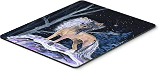 Caroline's Treasures Mouse/Hot Pad/Trivet, Starry Night Chinese Crested (SS8390MP)