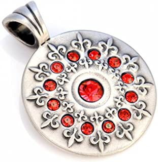 Bico Australia Jewelry (Cr1 Red) French Lily Pendant - Spiritual Truth