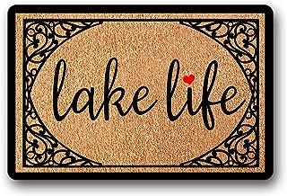 Bernie Gresham Entrance Floor Mat Funny Doormat Lake Life Door mat Decorative Indoor Outdoor Doormat Non-Woven Fabric Top 30