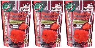 (3 Pack) Hikari 330342 Blood, Red Parrot+, Medium Pellets, 333g 11.7oz