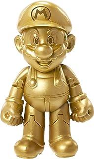 "World of Nintendo 91447 4"" Gold Mario Action Figure"