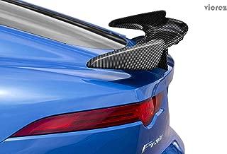 Vicrez VZ Carbon Fiber Rear Spoiler vz100835 for Jaguar F Type 2015-2018