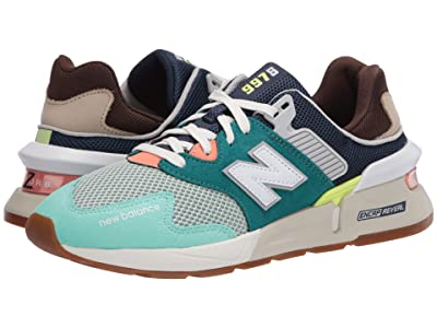 New Balance Classics MS997Jv1 (Team Teal/Neo Mint) Men