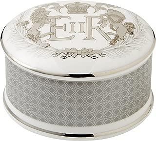 Wedgwood Diamond Jubilee Queen Elizabeth II Trinket Box