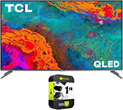 $499 » TCL 55S535 55-inch 5-Series 4K QLED Dolby Vision HDR Smart Roku TV Bundle with 1 Year Extended Protection Plan