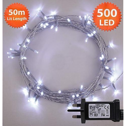 500 Led Christmas Lights Amazon Co Uk