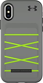 Under Armour UA Protect Arsenal Case for iPhone X – Graphite/Quirky Lime