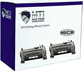 MICR Toner International Compatible Magnetic Ink Cartridge Replacement for HP 90A CE390A Laserjet M601 M602 M603 M4555 (2-Pack)