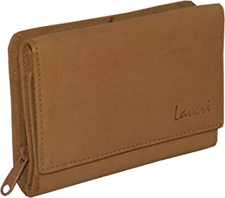 Laveri Tan Leather For Women - Trifold Wallets