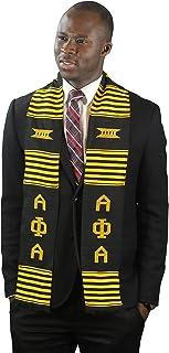 DashikiMe Alpha Phi Alpha Fraternity Kente Graduation Stole