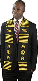 DashikiMe Alpha Phi Alpha Fraternity Kente Graduation Stole