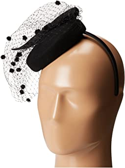 SCALA - Wool Felt Fascinator with Bow