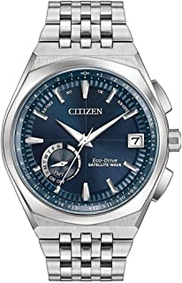 Citizen Satellite Wave Blue Dial Stainless Steel Men's Watch CC302057L
