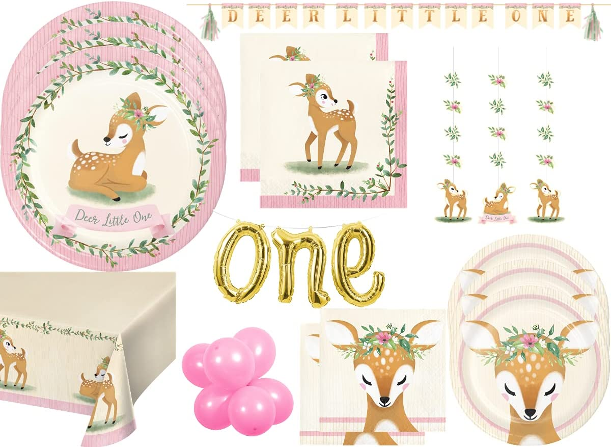 Deer Little One Party by Creative Converting