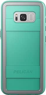 Pelican Protector Samsung Galaxy S8+ Case - Aqua/Grey