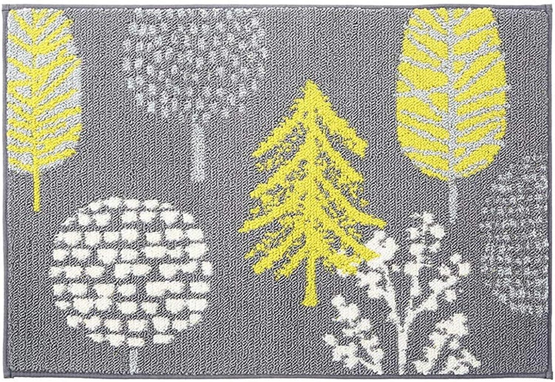 JIAJUAN Doormat Front Entrance Floor Mats Low Profile Washable Rug Dirt Debris Mud Trapper, 6mm, 6 Sizes (color   Multi-colord, Size   45x180cm)