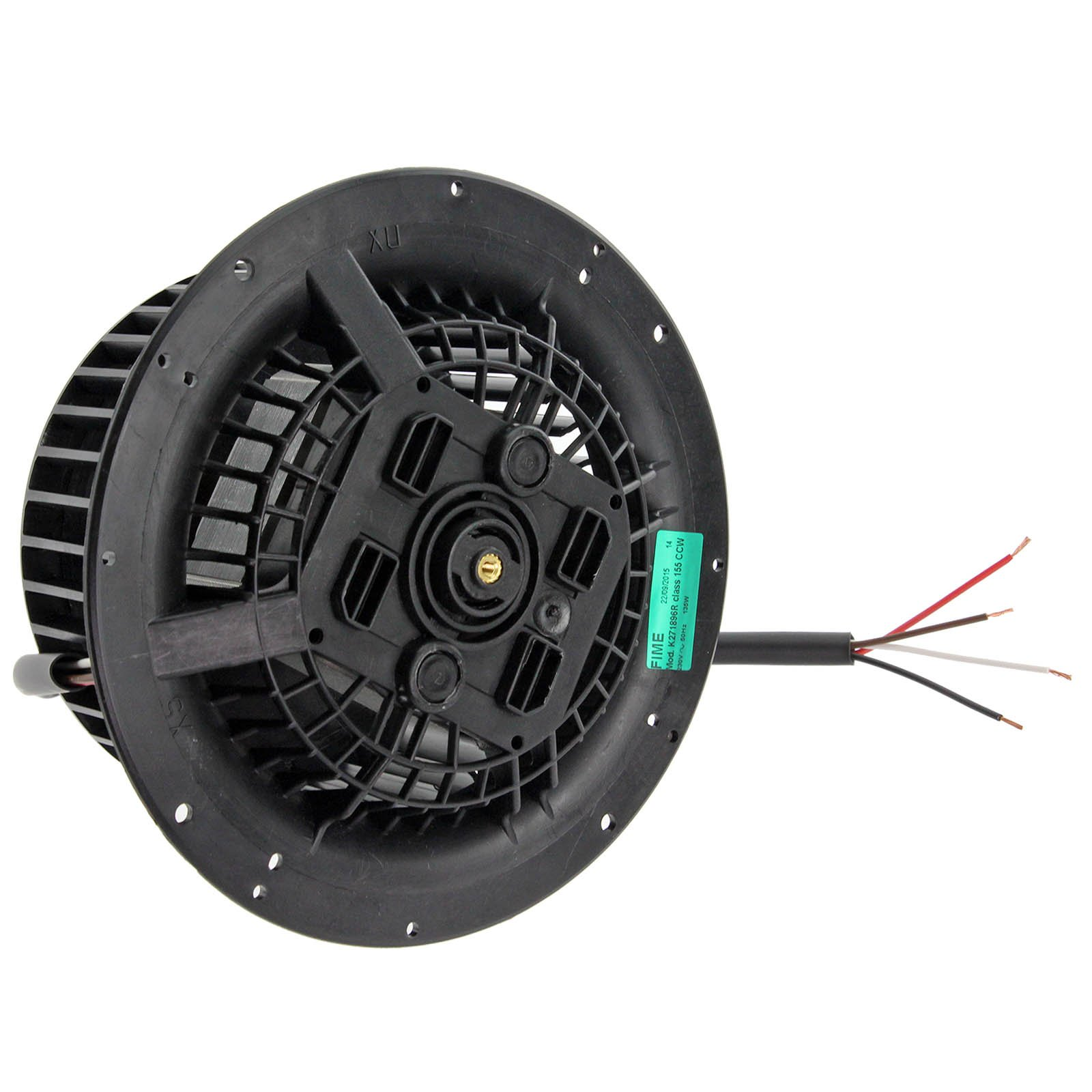 SPARES2GO Universal 135 W para campana extractora Motor y ventilador de la unidad (sentido de las mano izquierda direccional de manga corta para mujer): Amazon.es: Hogar