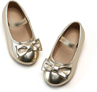 Ballet Mary Jane Flats Dress Shoes for Toddlers & Little Girls