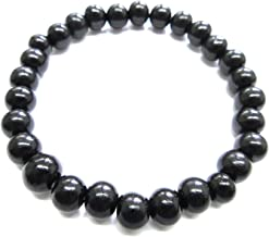 Black Kokutan Ebony Wood Bracelet Japanese Juzu Rosary Prayer Beads Handmade in Kyoto UDA50
