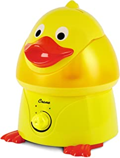 Crane Filter-Free Cool Mist Humidifiers for Kids, Duck