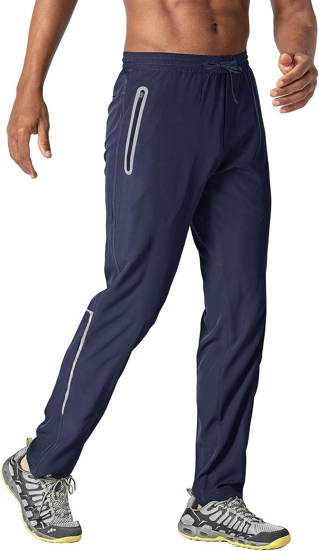 TACVASEN Men's Quick New York Mall Dry Hiking Drawstring Running Ranking TOP9 Jogger Pants