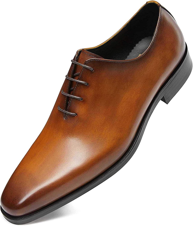 Men's Dress Shoes Oxford Formal Leather Shoes for Men