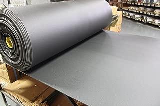 BLACK 2LB Volara Closed Cell Foam - Auto Upholstery Crafts 1/8