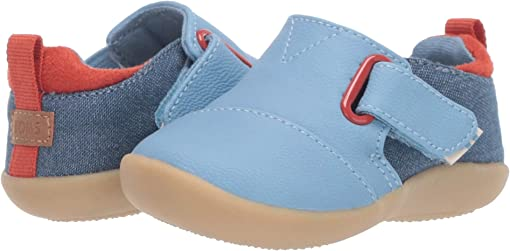 Blue Nubuck Synthetic