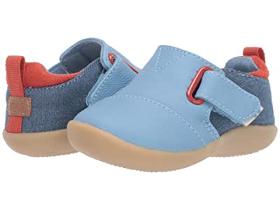 TOMS Kids Whiley (Infant/Toddler) (Blue Nubuck Synthetic) Kid