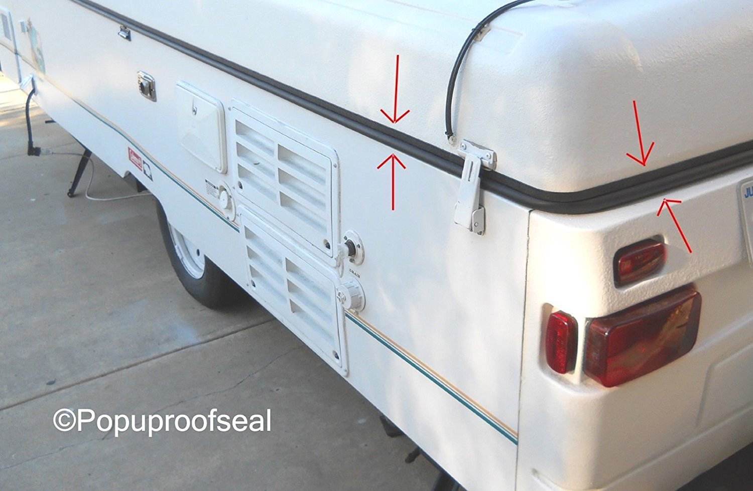Coleman 1995 Pop Up Camper Parts And Diagram - Wiring Diagram Structure