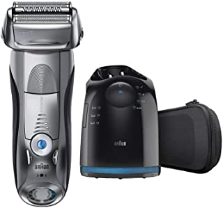 Braun Electric Razor for Men, Series 7 790cc Electric Shaver with Precision Trimmer, Rechargeable, Foil Shaver, Clean & Ch...