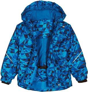 Chaquetas de Esquí para Niñas Niños,Traje de Nieve con Capucha Abrigo de Invierno Impermeable