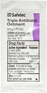 First Aid Triple Antibiotic Ointment .5gr Packets (Box of 144)