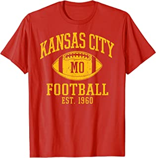 Kansas City 2020 | Vintage KC Football Missouri Retro...