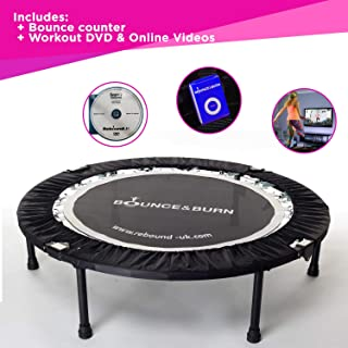 MXL MaXimus Life Rebounder - Cama Elástica, Trampolín, Incluye DVD. Mini trampolín Fitness, Cama elástica Fitness