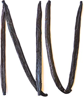 Sponsored Ad - Native Vanilla Grade A Tahitian Vanilla Beans – 5 Premium Gourmet Whole Pods – For Chefs and Home Baking, C...