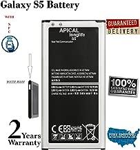 LONGLIFE Galaxy S5 Battery 2800mAh Replacement Battery for Galaxy S5 SM-G900F SM-G900H SM-G900A(AT&T) SM-G900TR SM-G900P(Sprint) SM-G900T(T-Mobile) SM-G900R(U.S. Cellular) SM-G900V(Verizon)