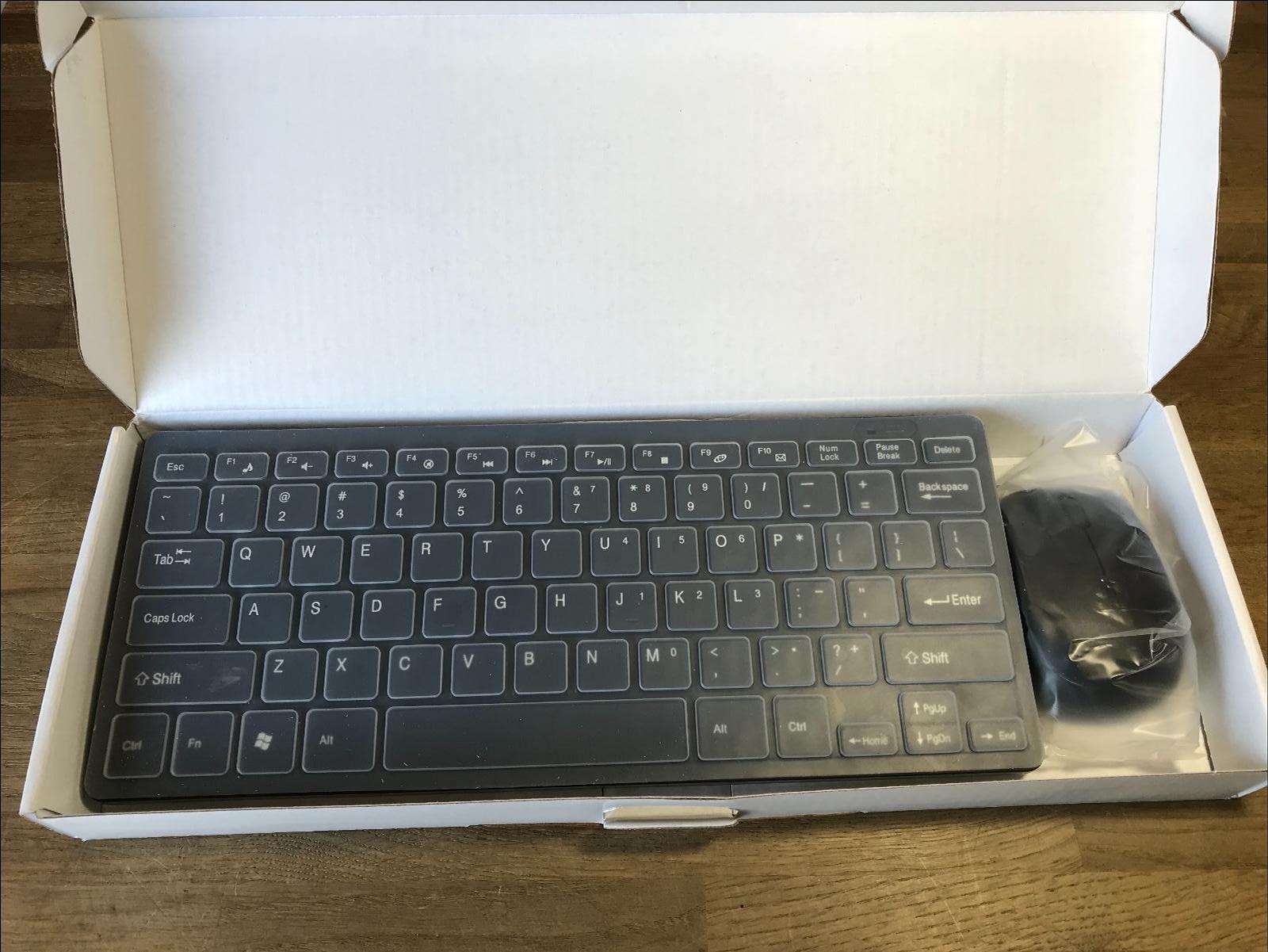 Mini Teclado y Ratón inalámbricos para LG Smart TV, Color Negro: Amazon.es: Electrónica