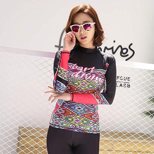 HNPYY Sun Prougeection manche longue Sportswear Pantalon Long pour Combinaison de Surf et Maillot de Bain