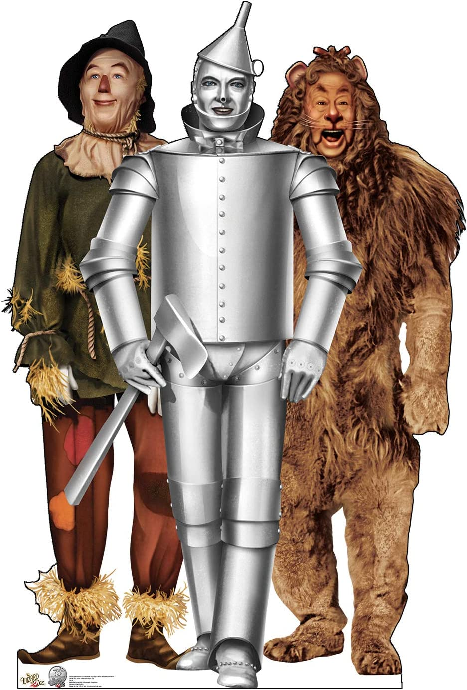 Cardboard People Tin Man Cowardly Lion Scarecrow Super special price Life Size Cheap sale and