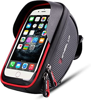 Wallfire Bike Phone Mount Bag, Bicycle Frame Bike...