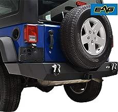 EAG Rear Bumper Full Width with 2