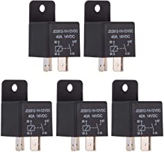 Ehdis Car Relay 4 Pin 12v 40amp Spst Model No.: JD2912-1H-12VDC 40A 14VDC, Auto Switches & Starters, 5 Pack