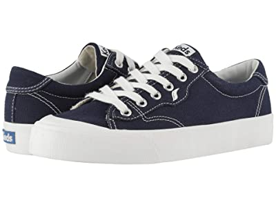 Keds Crew Kick 75 Canvas (Navy Canvas) Women