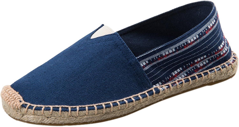 SK Studio Womens Ethnic Canvas Slip On Flats shoes