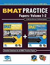 BMAT Practice Papers Volume 1 & 2: 8 Full Mock Papers, 500 Questions in the style of the BMAT, Detailed Worked Solutions for Every Question, Detailed ... 3, BioMedical Admissions Test, UniAdmissions