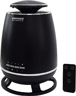 Syntrox Germany Diseño–Calefactor de cerámica Stand calefactor 1800W con mando a distancia CH de 1800W calor